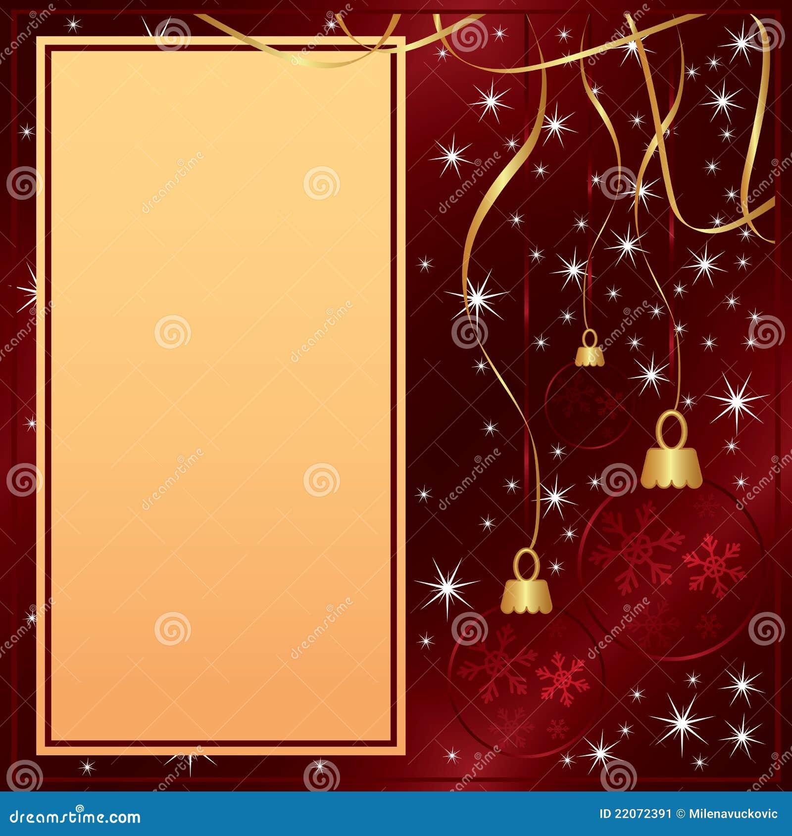tarjeta roja elegante de la feliz navidad imagen de archivo