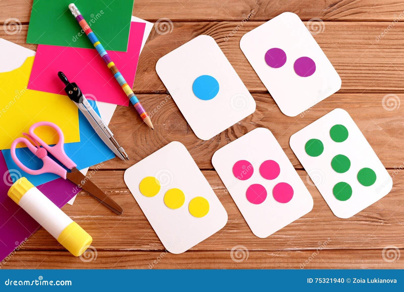 Tarjetas De La Educación Para Los Niños Aprendizaje De Colores Niños ...