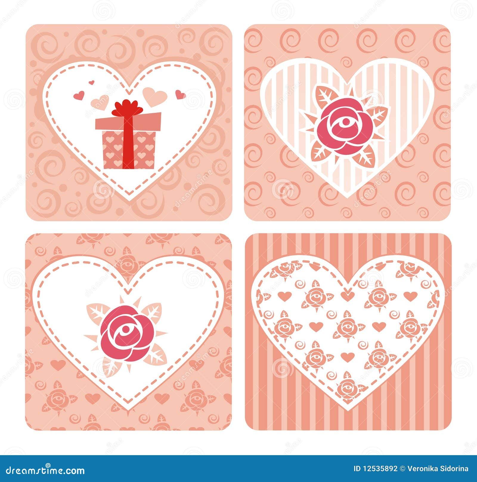 Tarjetas decorativas para el d a de valentine s - Fotos decorativas ...