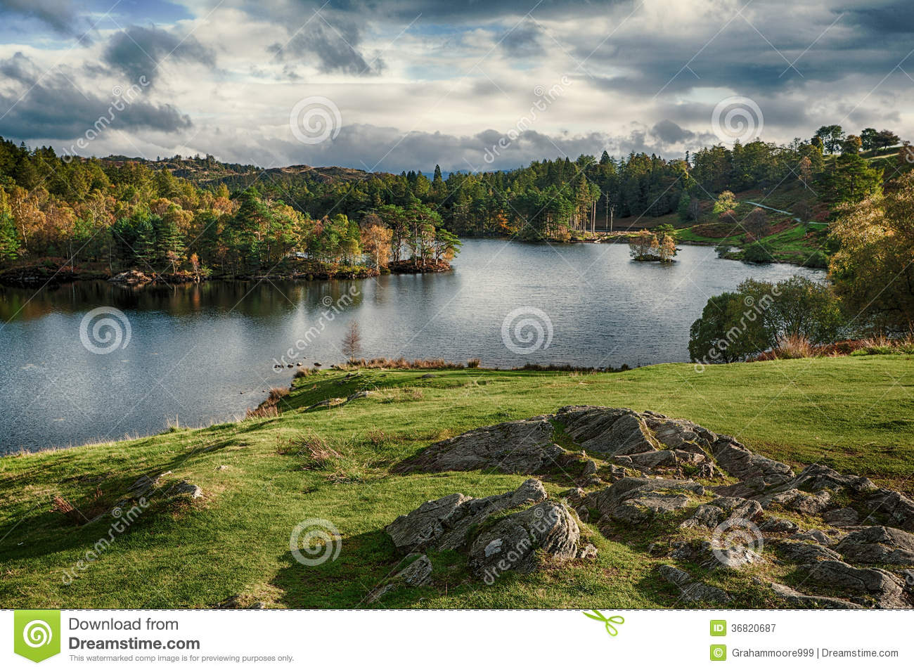 Tarn hows royalty free stock photography image 36820687 for How s the fishing