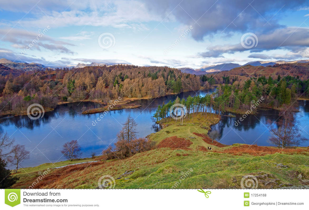 Tarn hows north view stock photo image of cumbria george for How s the fishing