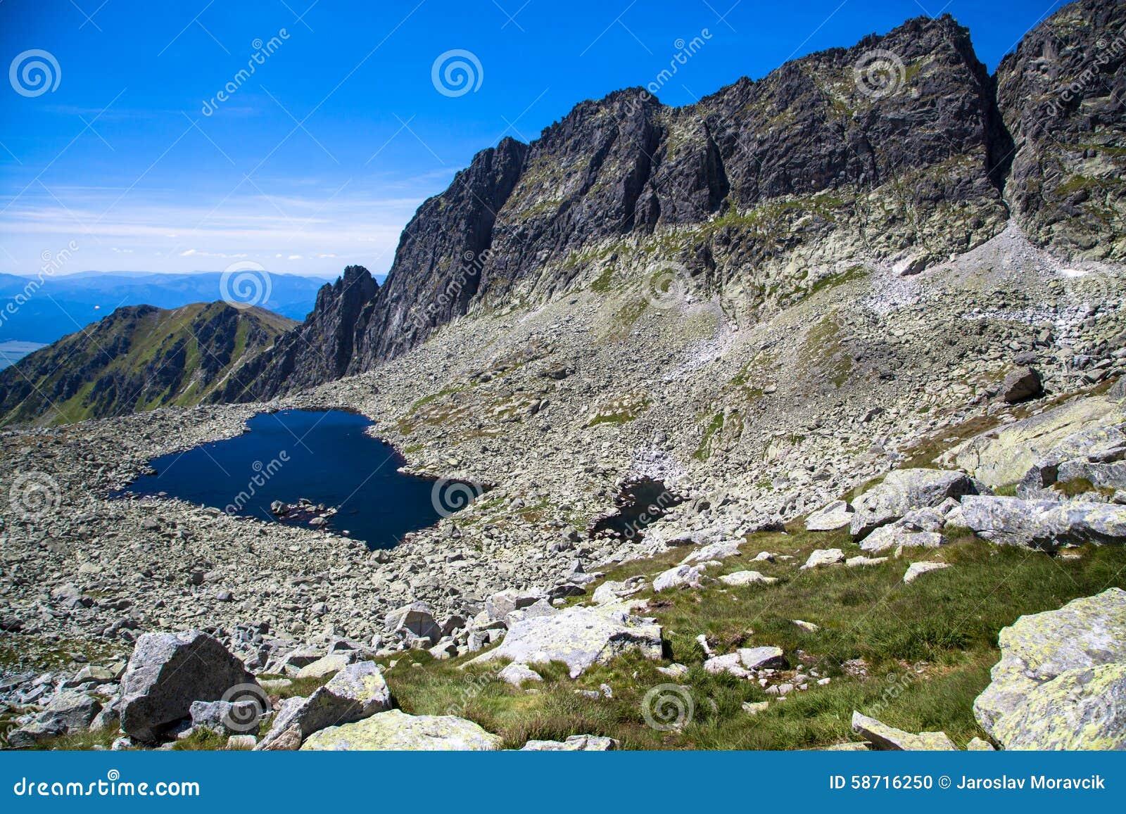 Tarn i berg