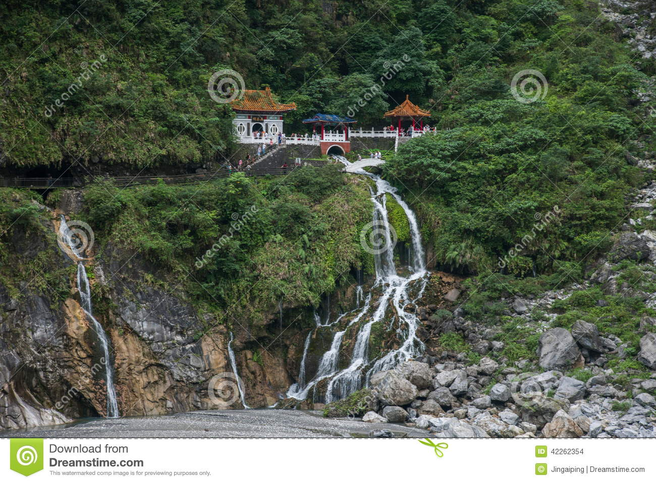 Stock Photo: Taroko National Park in Hualien County, Taiwan Evergreen ...