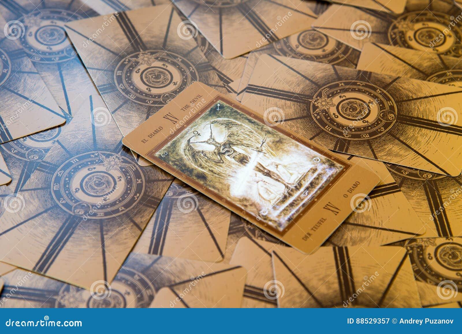 Tarot Card The Devil  Labirinth Tarot Deck  Esoteric