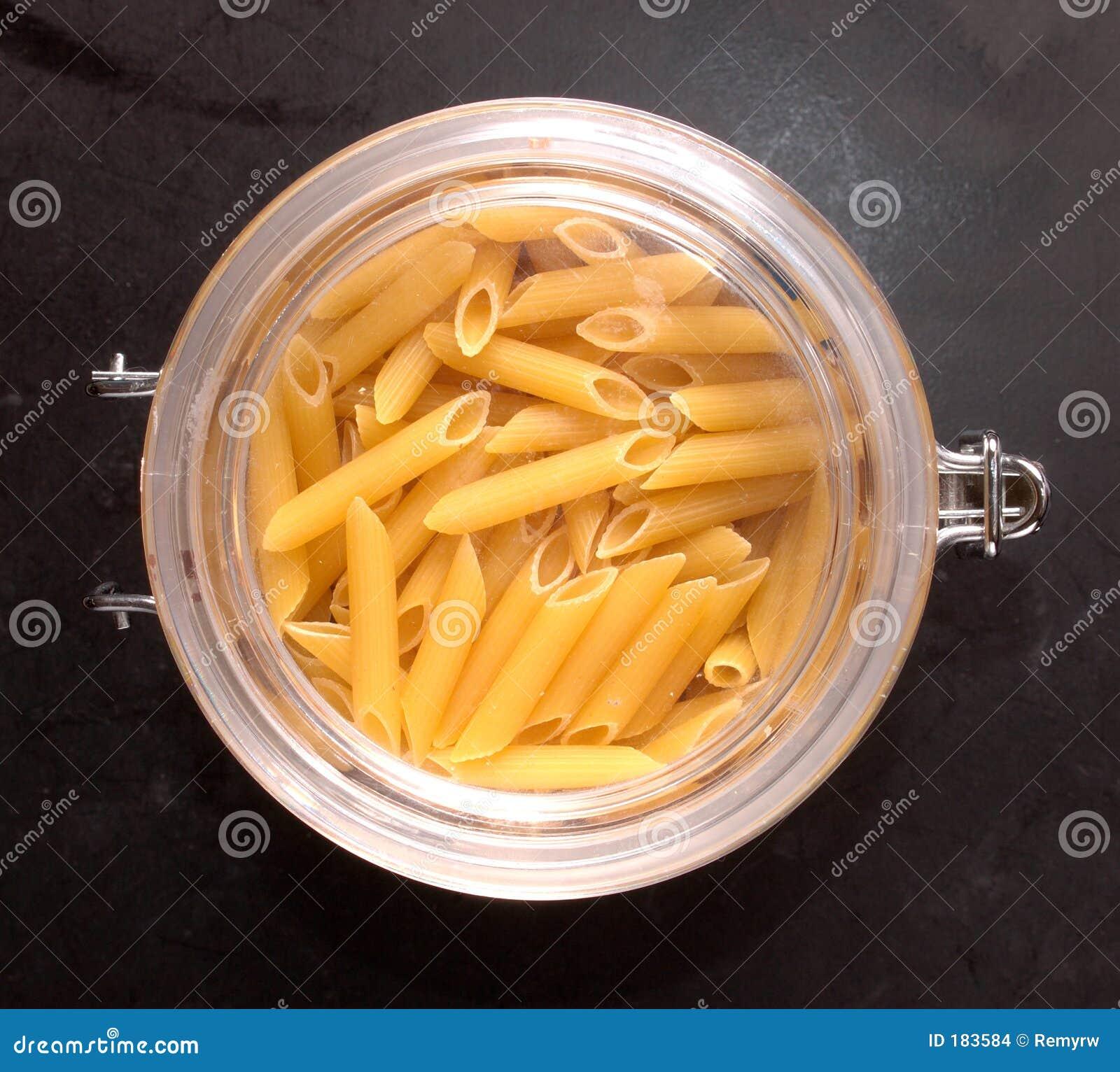 Tarro de las pastas