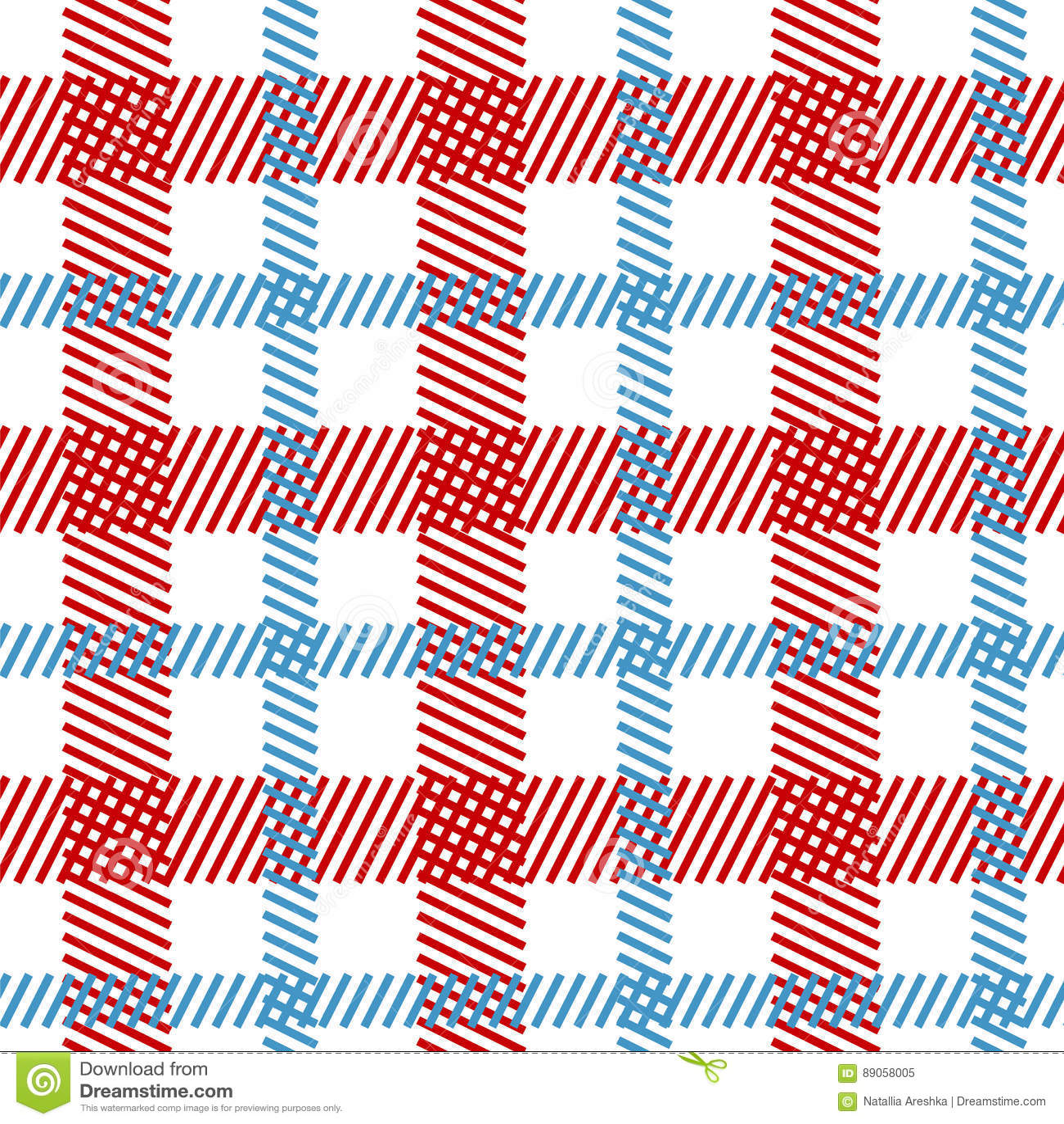 tartan fabric seamless pattern stock vector illustration of