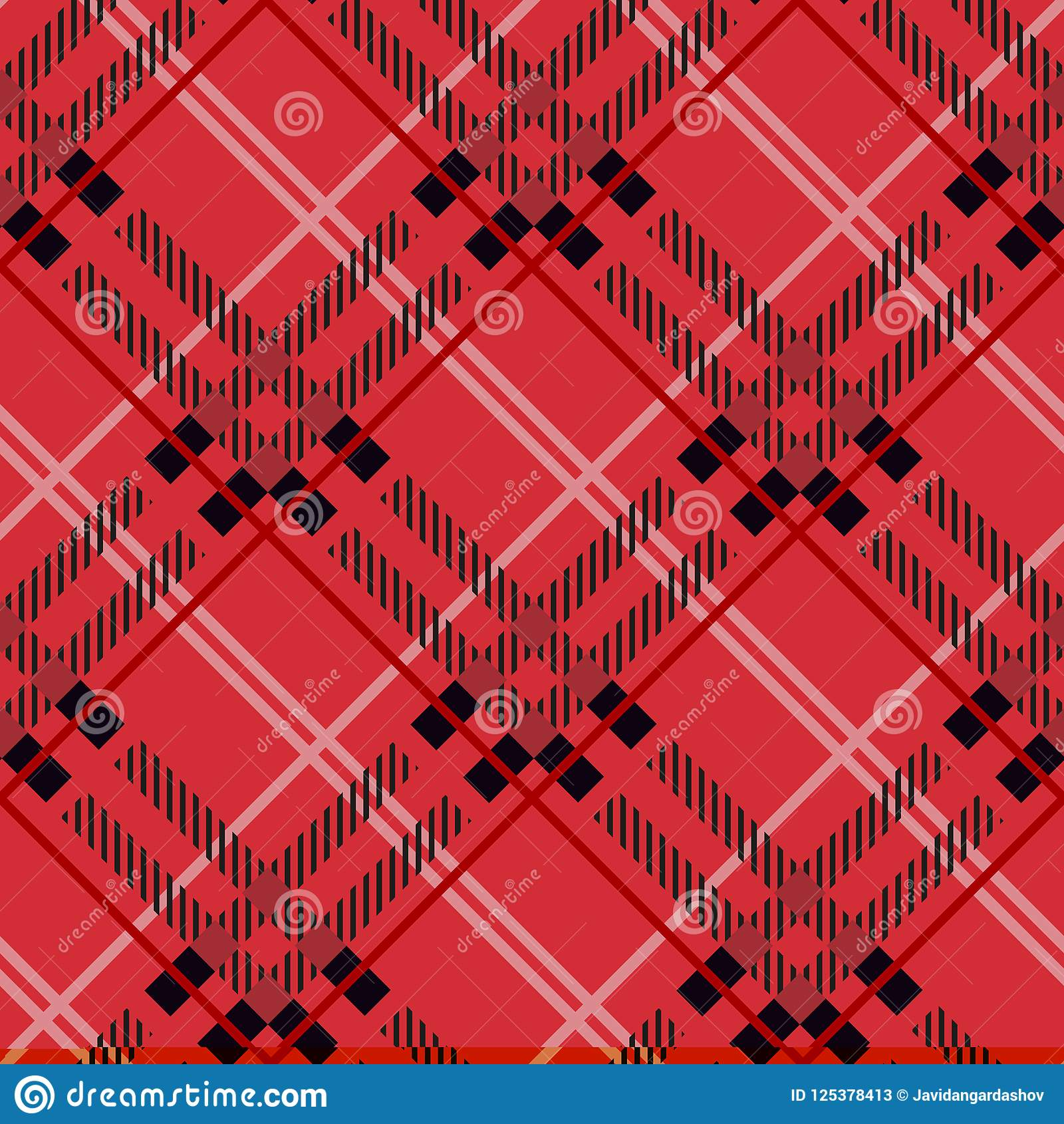 tartanplaid pattern vector backgroundtartan pattern fashion illustrationvector wallpaper christmasnew year decor traditional redblackgreen scottish