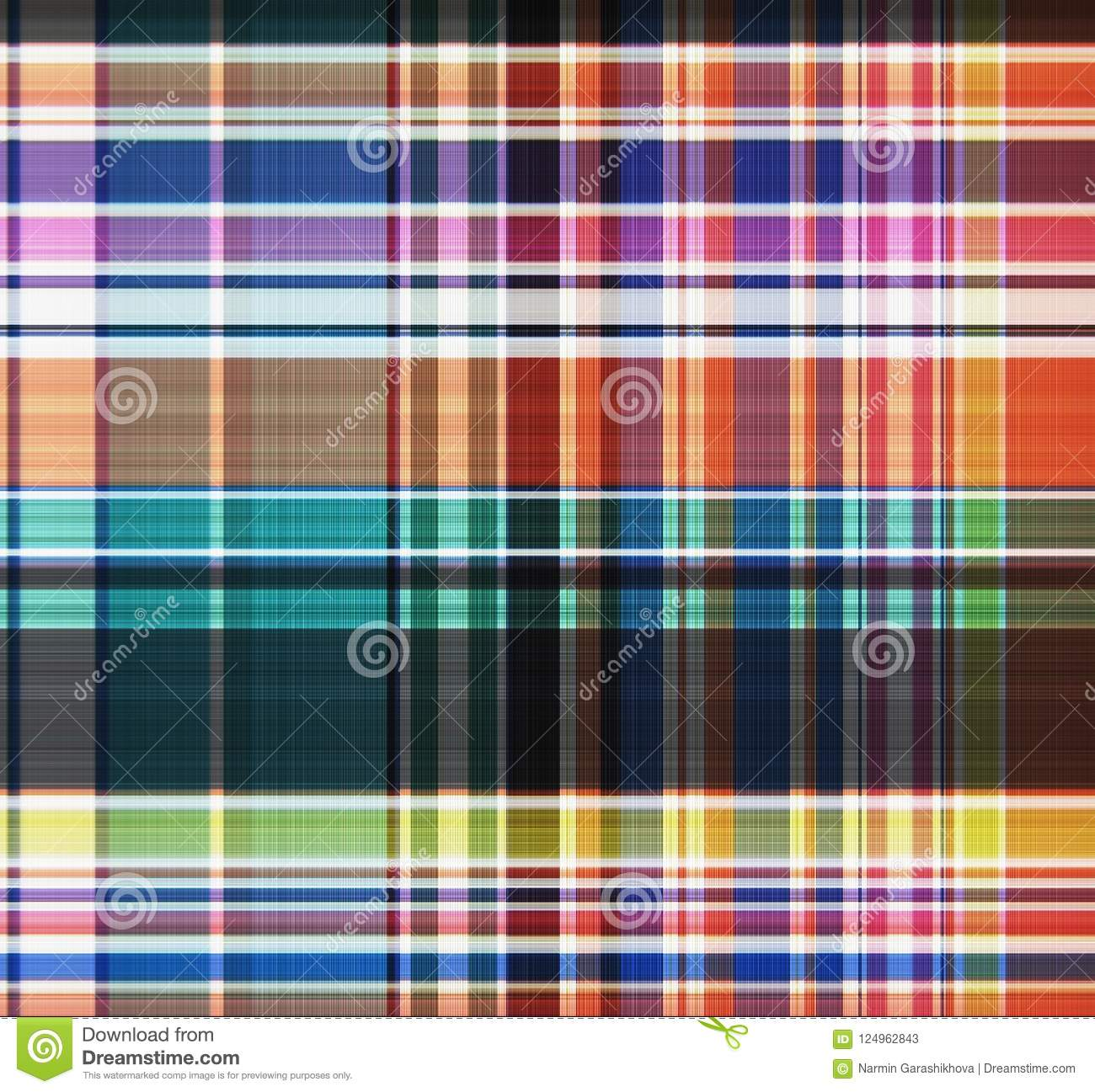 Tartan, plaid Seamless pattern. Textile design. Clothing pattern Wallpaper,wrapping paper,textile.Fashion illustration background