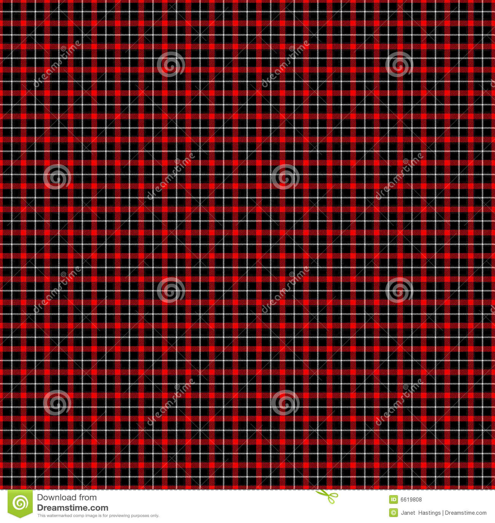 tartan rouge et noir et blanc illustration stock. Black Bedroom Furniture Sets. Home Design Ideas