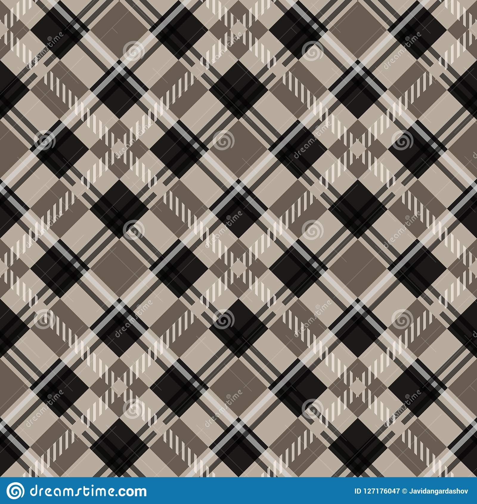 Suits for Decorative Paper Fashion Design and House Interior Design as Well as for Hand Crafts eps10 & Tartan Seamless Pattern. Trendy Vector Illustration For Wallpapers ...