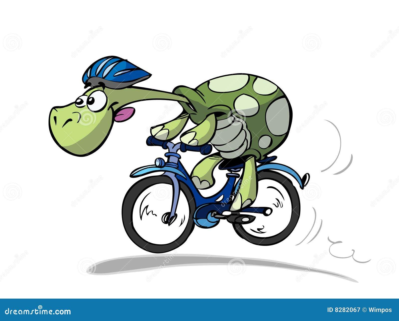 Tartaruga da bicicleta