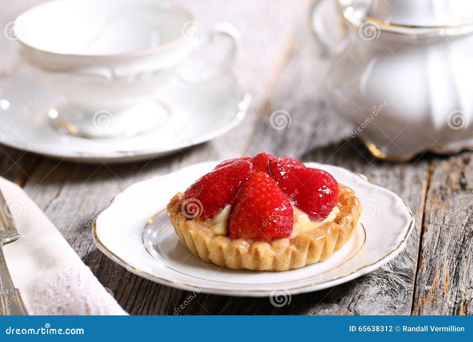Tarte de fraise