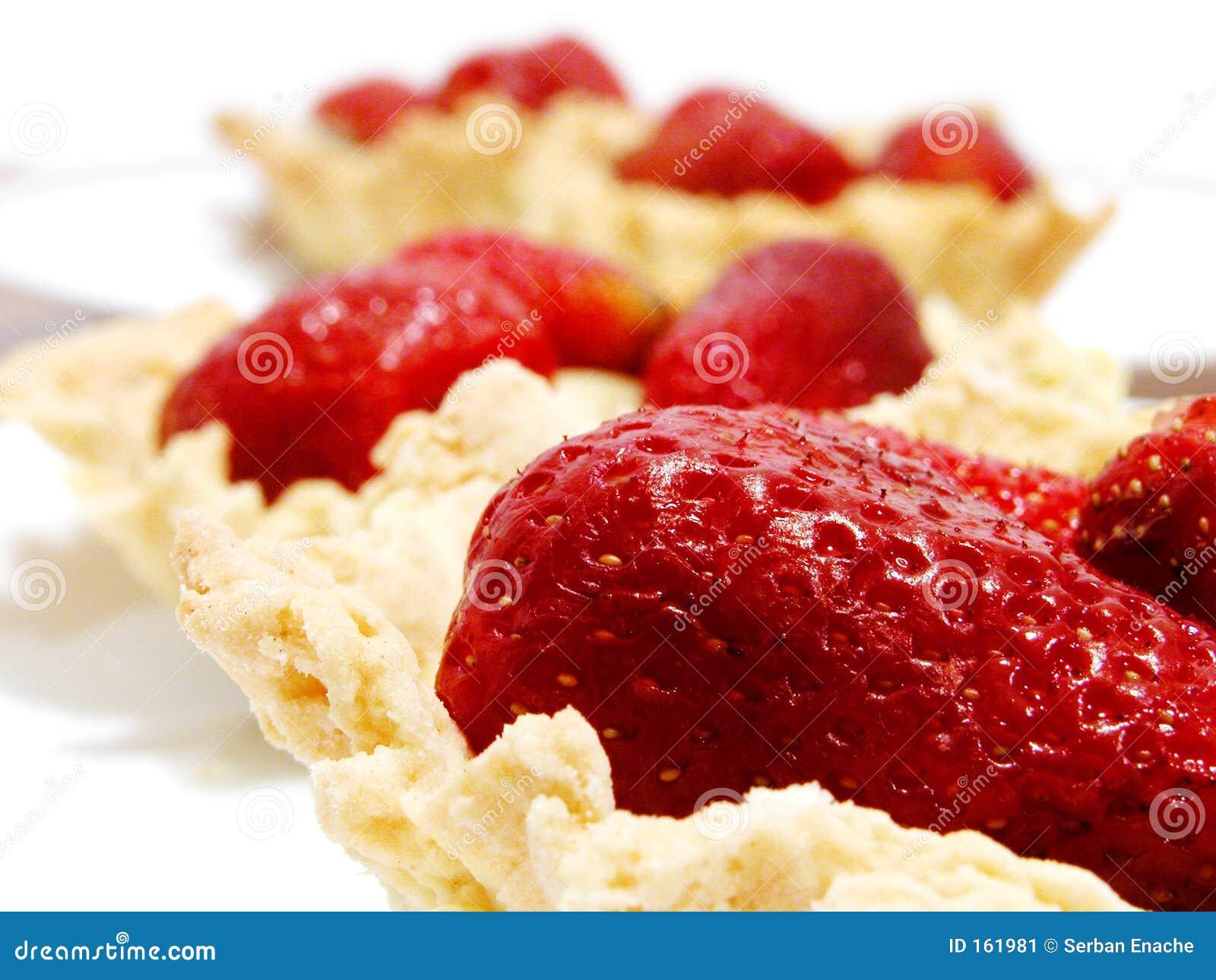 Tartes de fraise