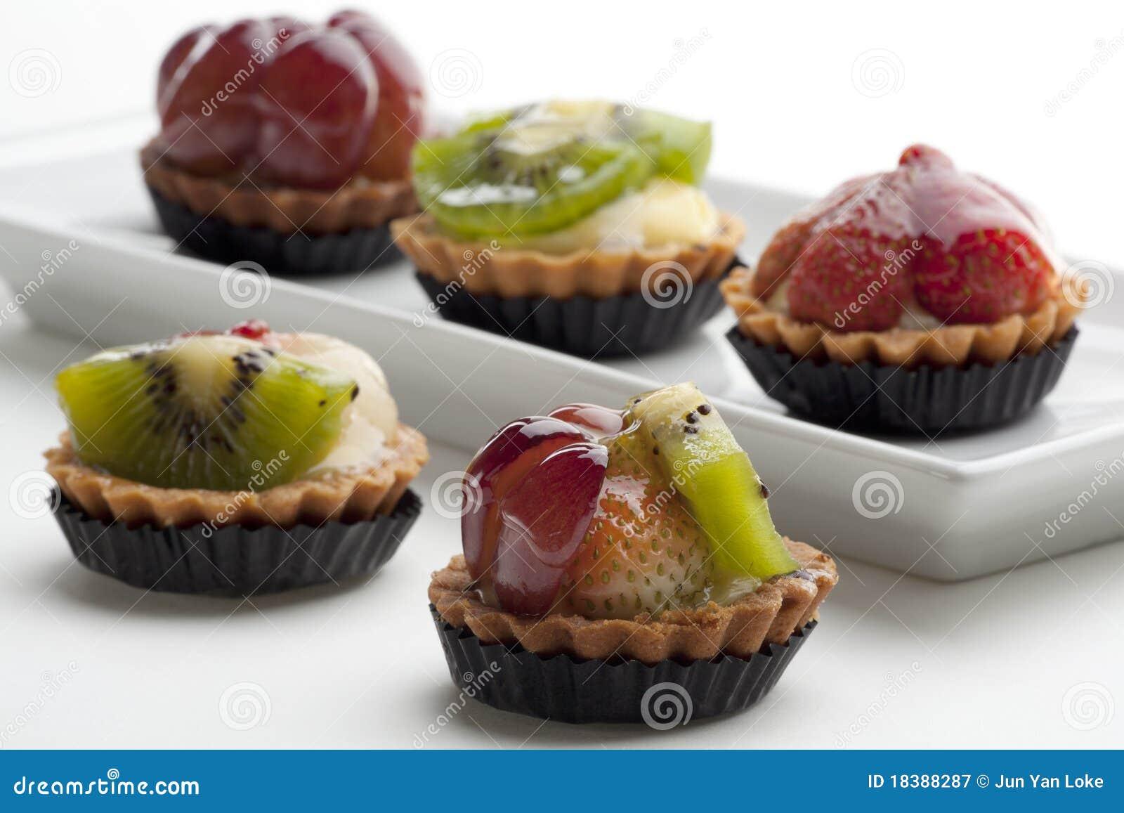Tartes de fruit