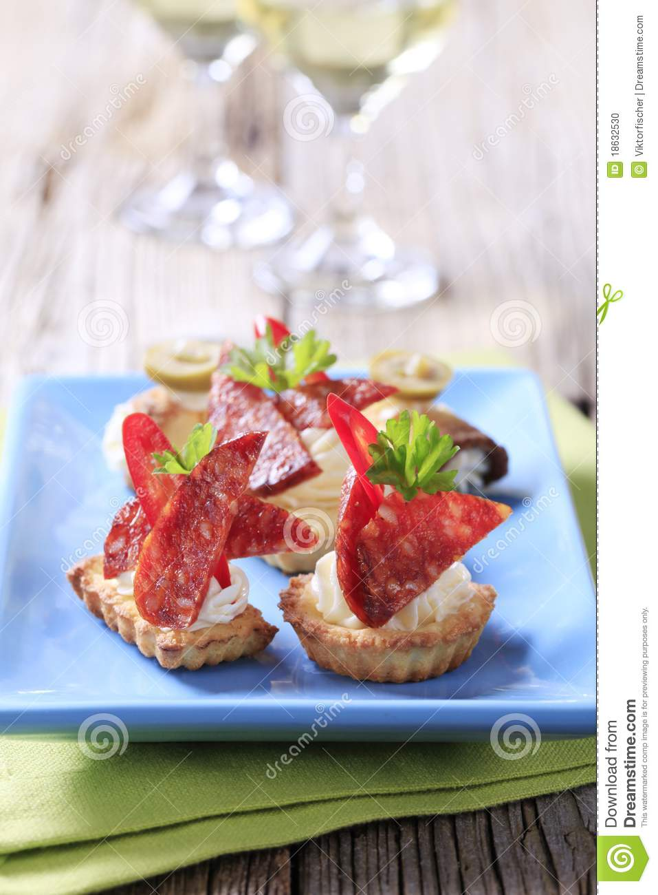 Tartlet royalty free stock photo 13052397 for How to make canape shells at home