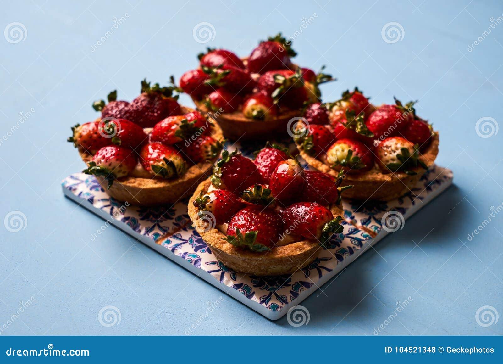 Tartletkuchen oder Korbkuchenkeks