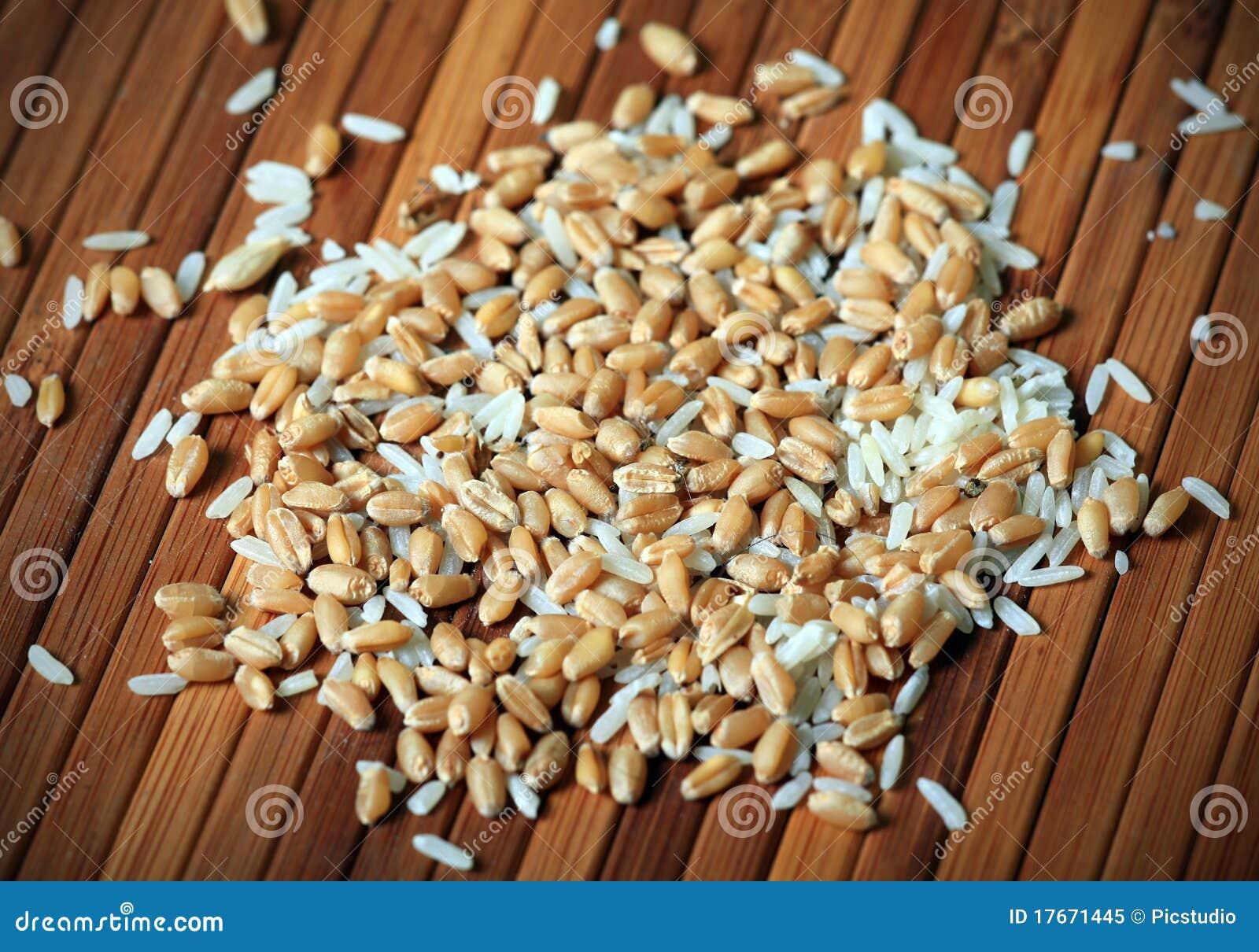 tarwe rijst