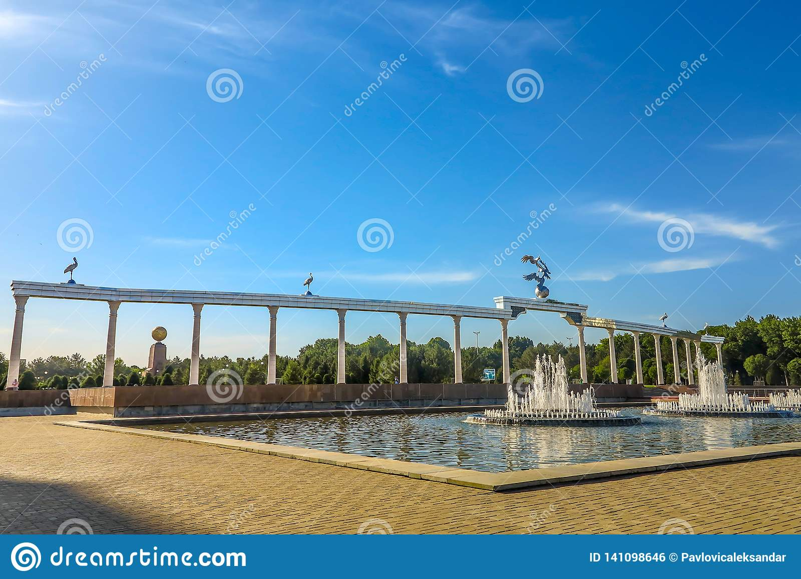 Tashkent Mustaqilliq Maidoni 08