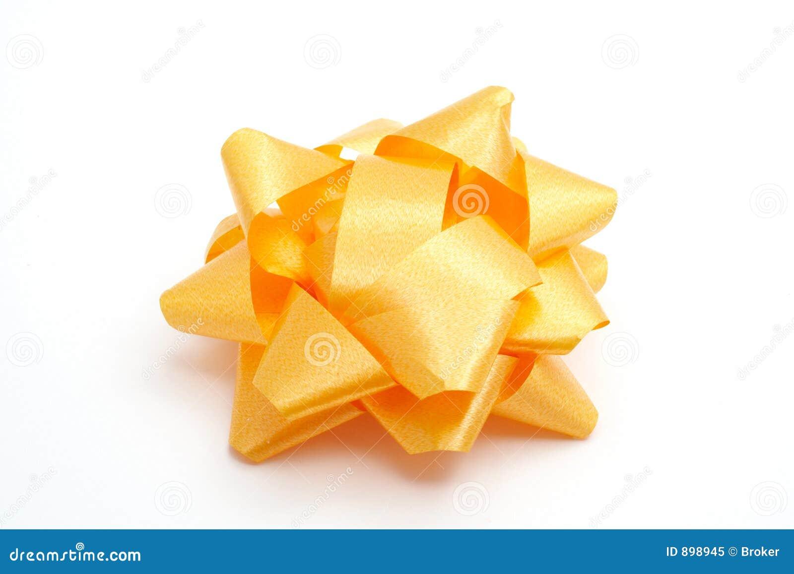 Tasiemkowy żółty