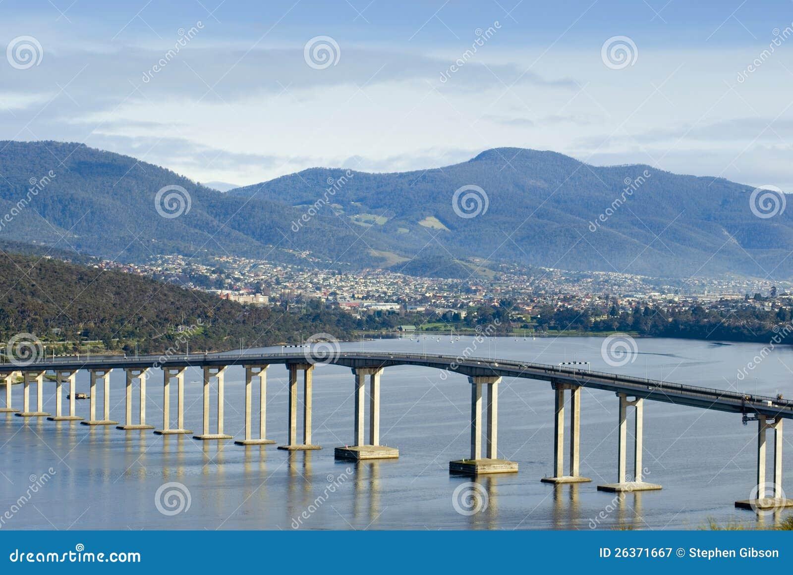 Tasman Brücke Derwent Fluss