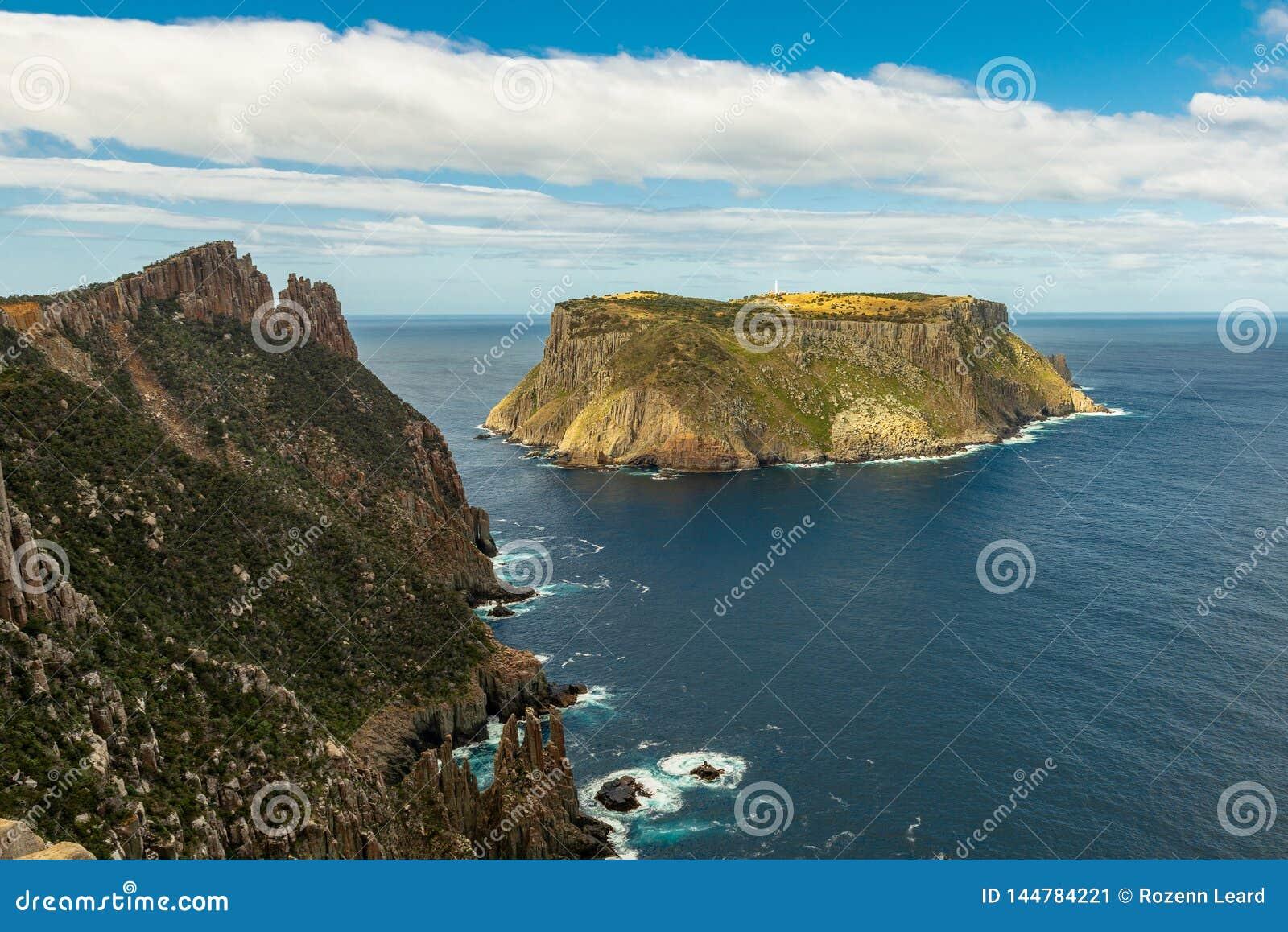 Tasman wyspa i ostrze, Tasmania, Australia