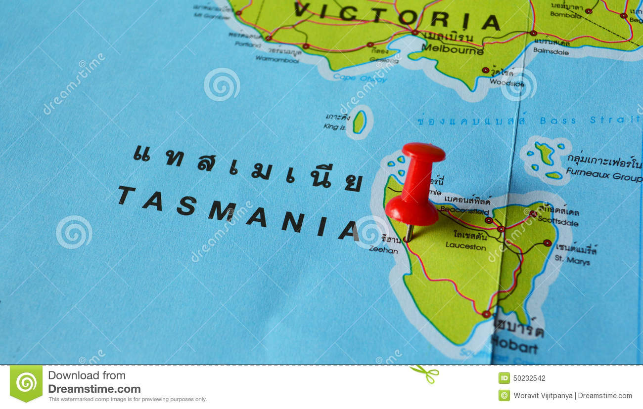 clipart map of tasmania - photo #22
