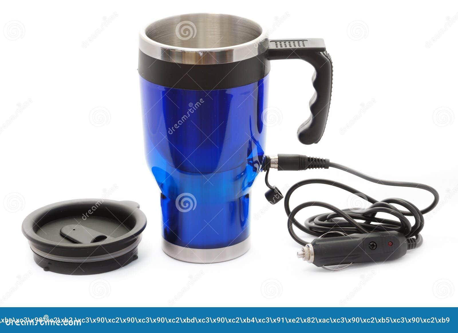 Populaire Tasse électrique De Thermos De Café Photo stock - Image: 15897842 WG73