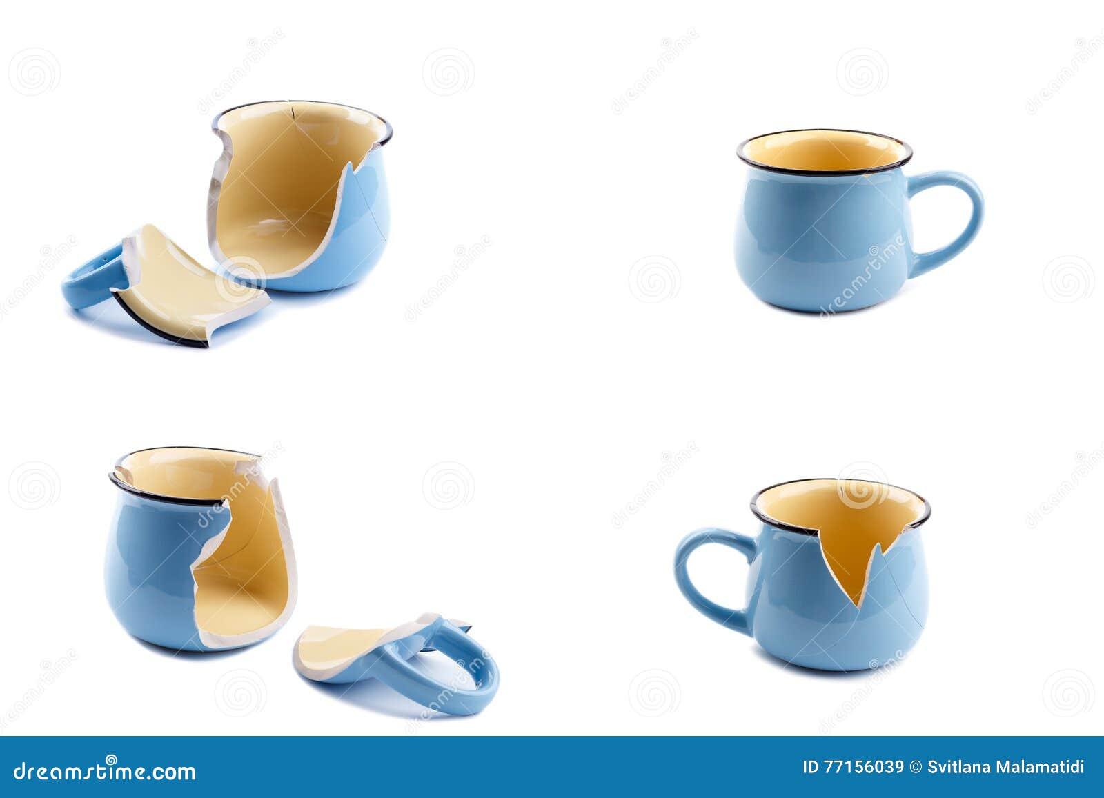 Tasse de café cassée