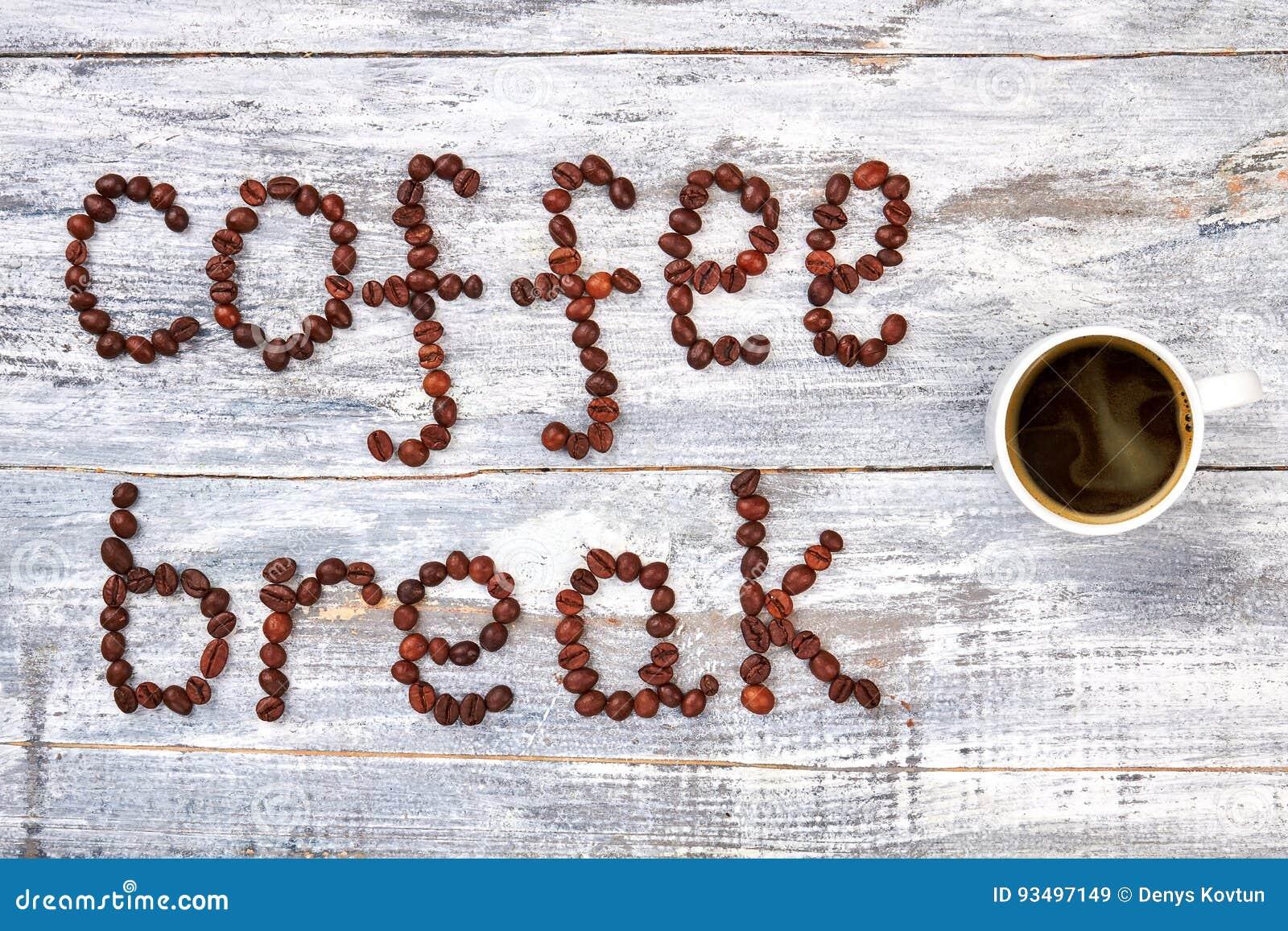 Tasse de café, pause-café