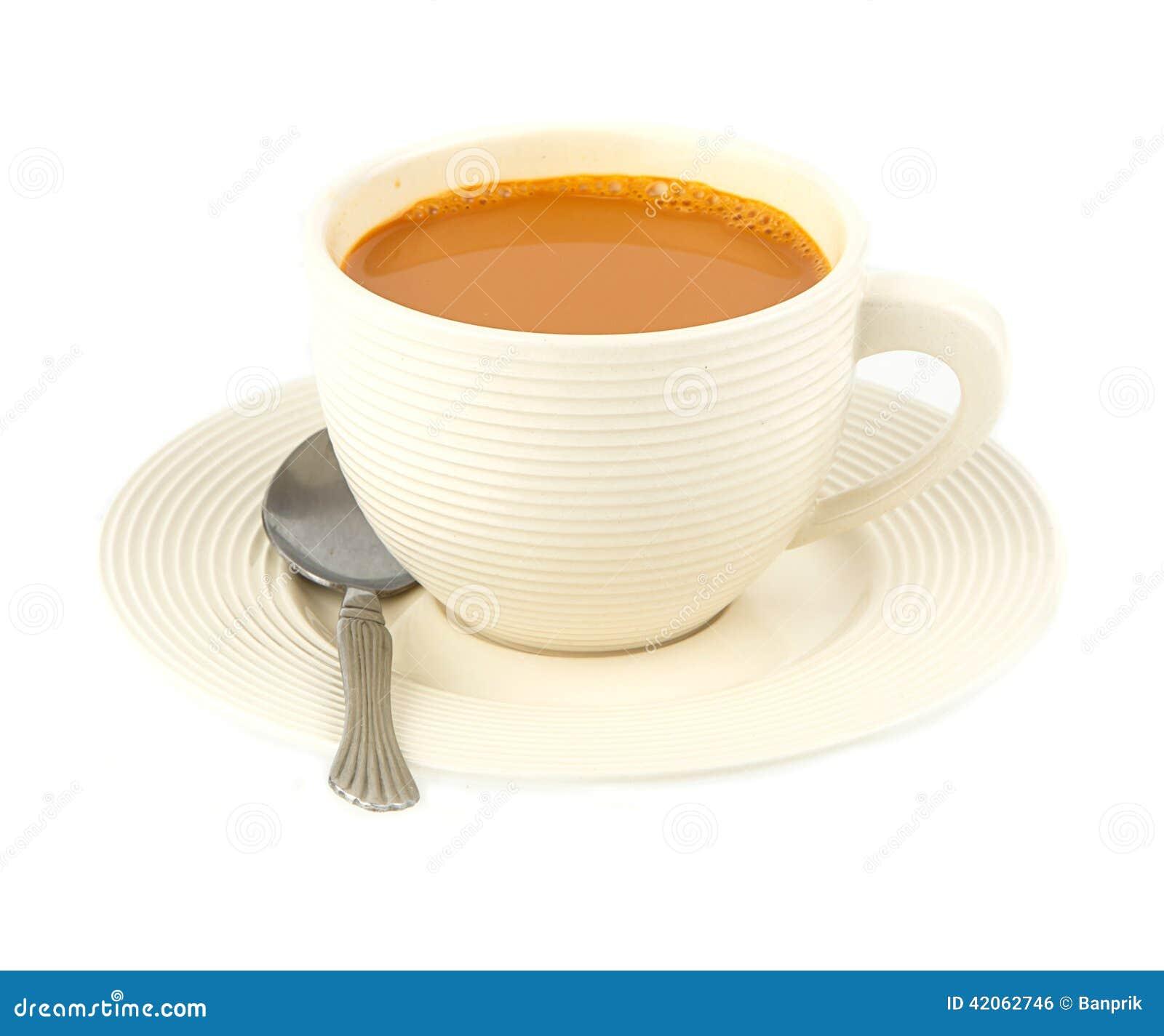 hot coffee white background - photo #48