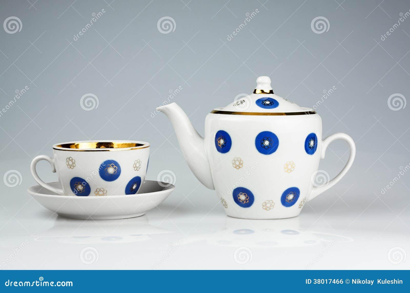Tasse et théière