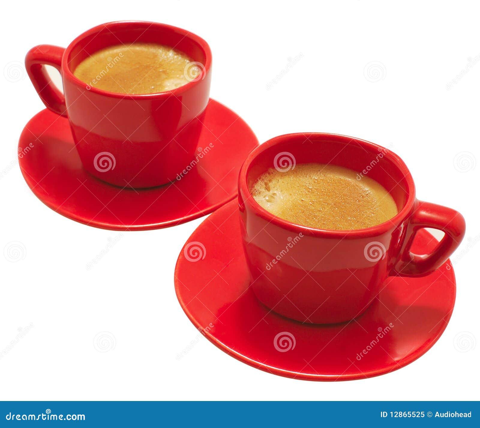 Tasses rouges