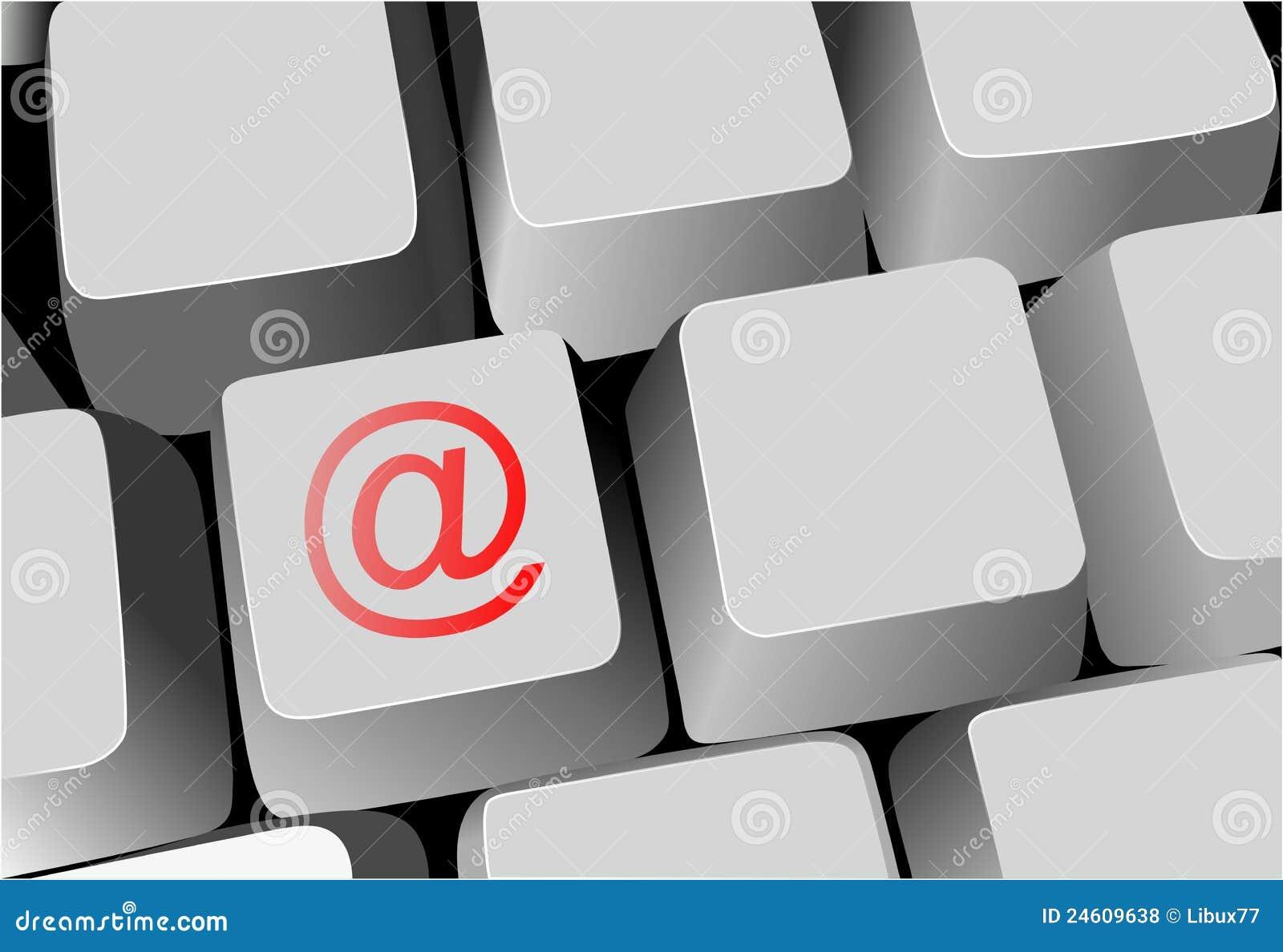 Tastatur, Taste mit eMail-Zeichen