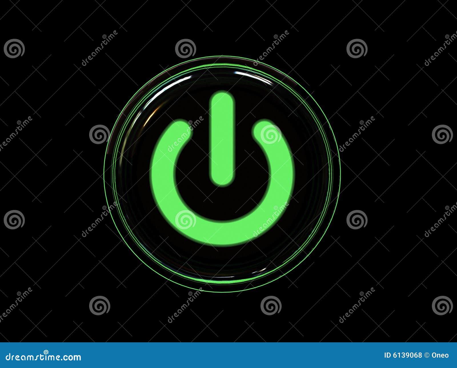 Taste der grünen Leistung