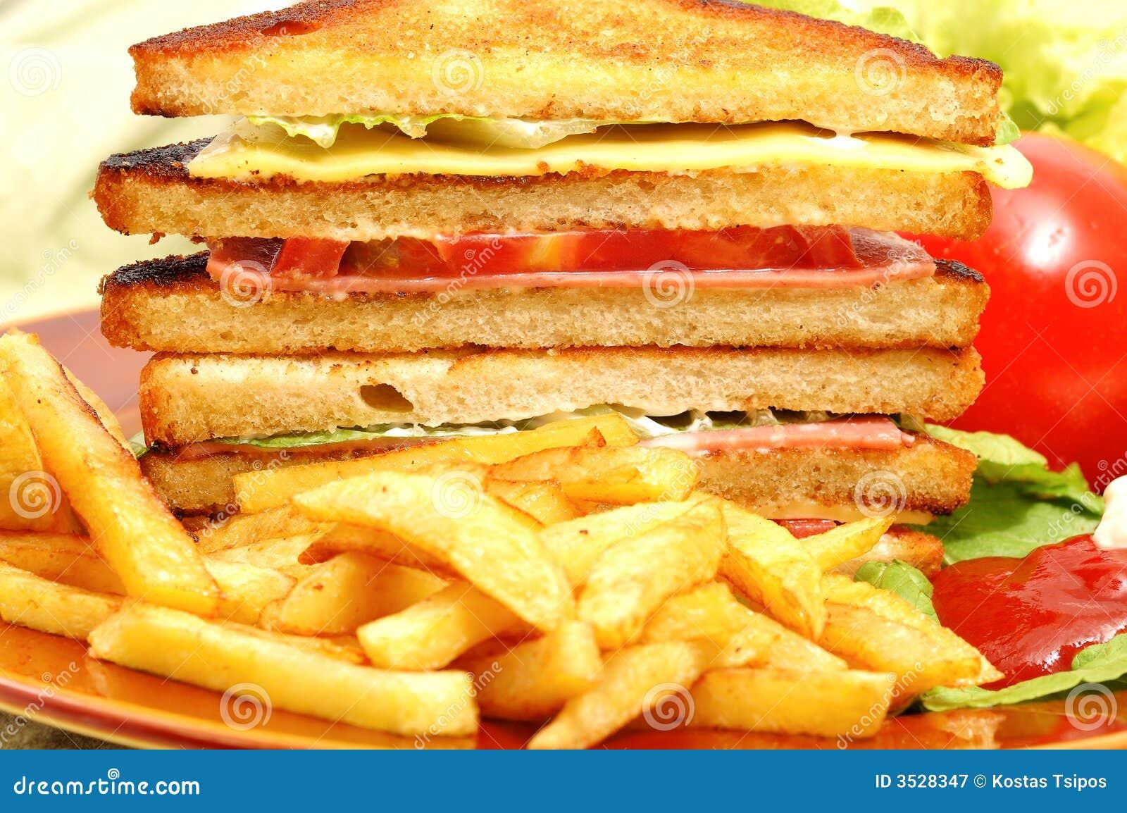 Tasteful klubbasmörgås
