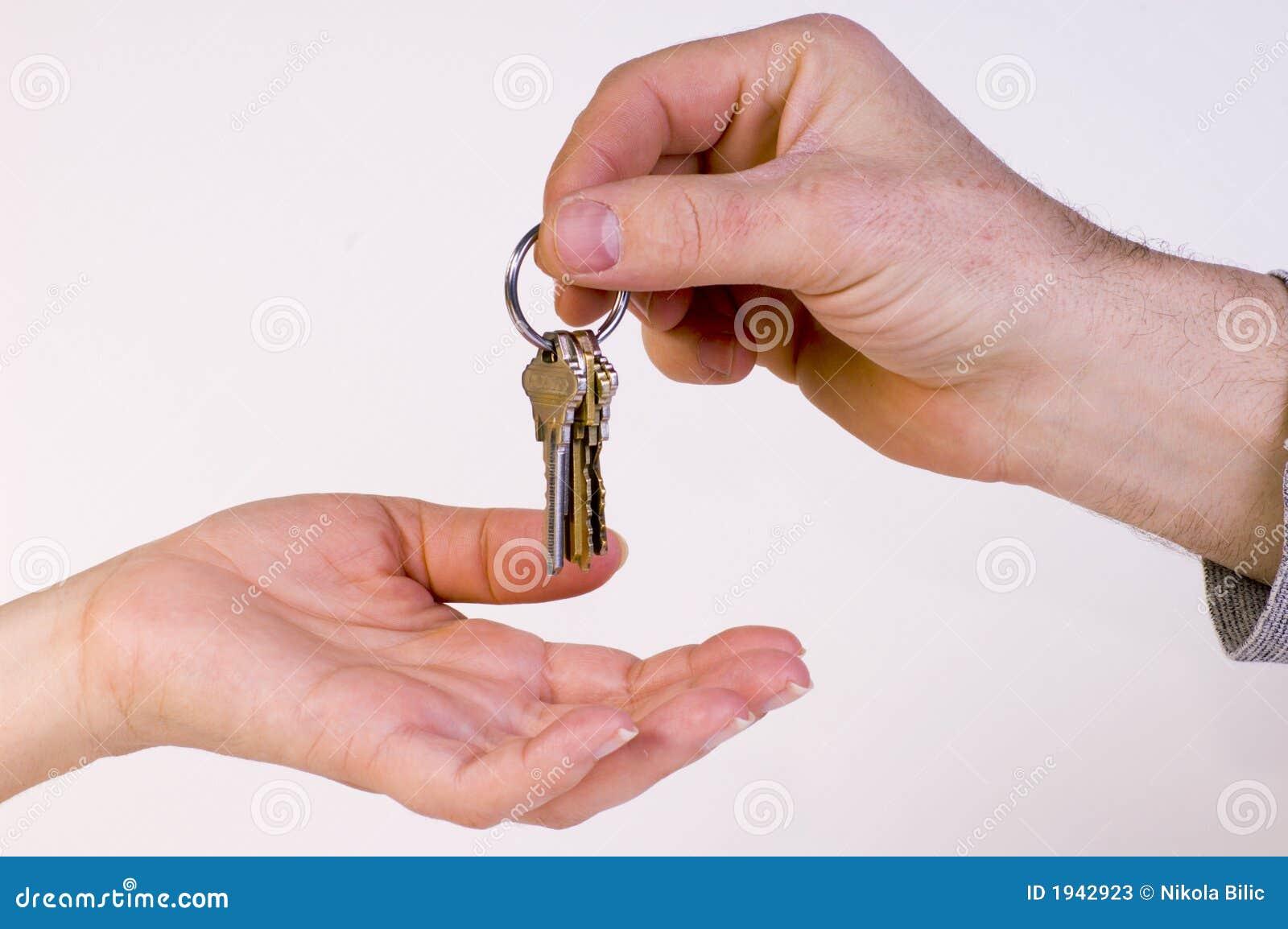 Tasti della nuova casa immagine stock immagine di accesso for Costo della nuova casa