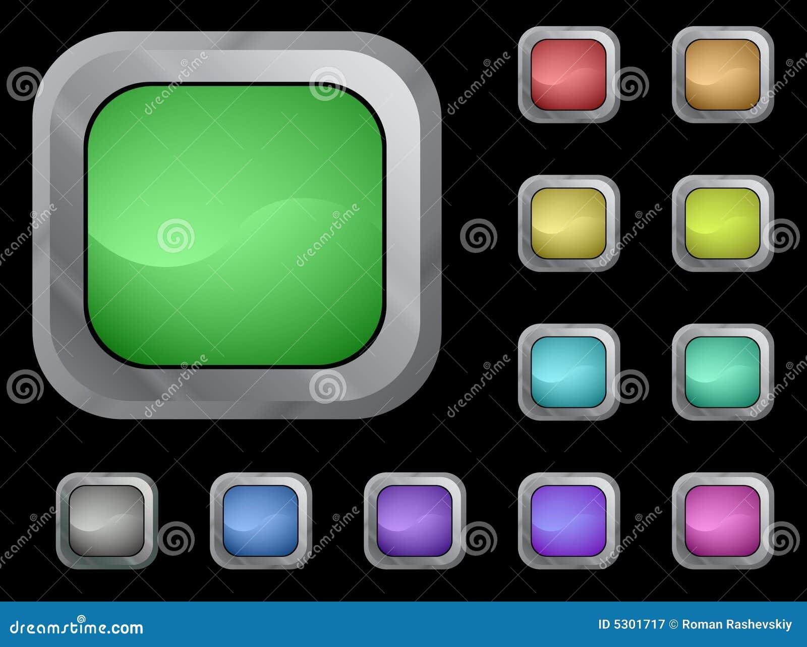 Download Tasti di colore illustrazione vettoriale. Illustrazione di elemento - 5301717