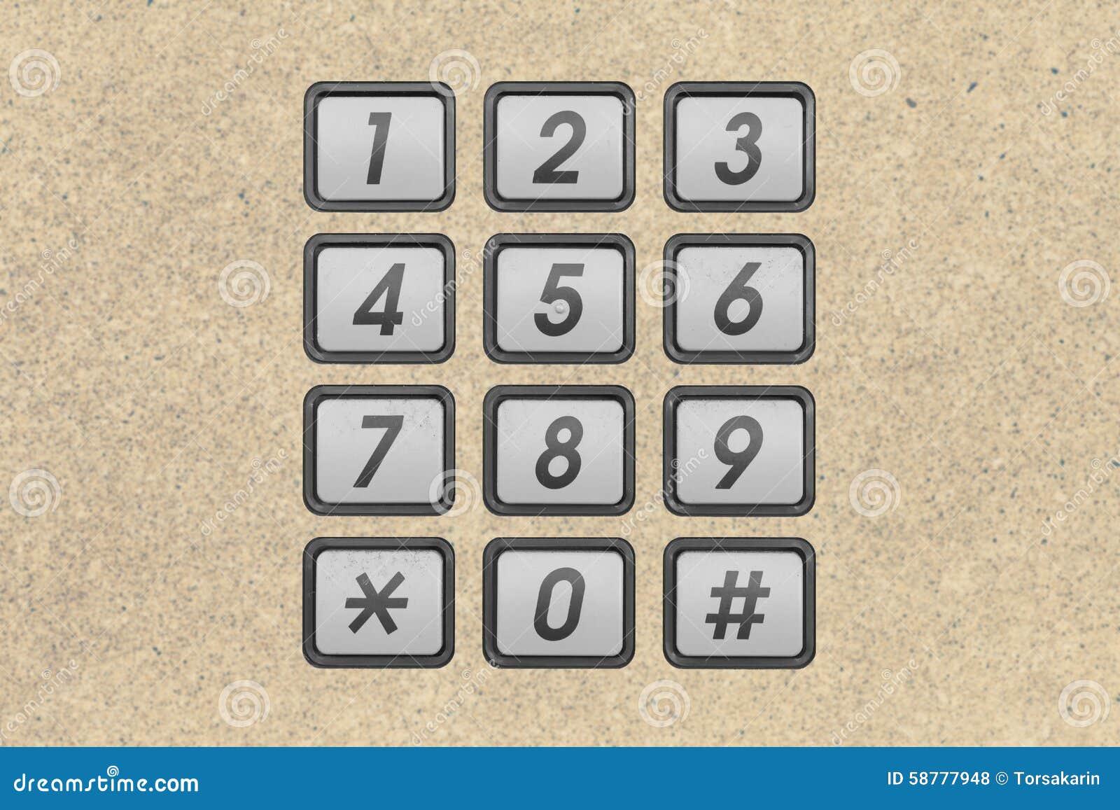 Tastiera del numero di telefono fotografia stock - Numero di telefono piscina ortacesus ...