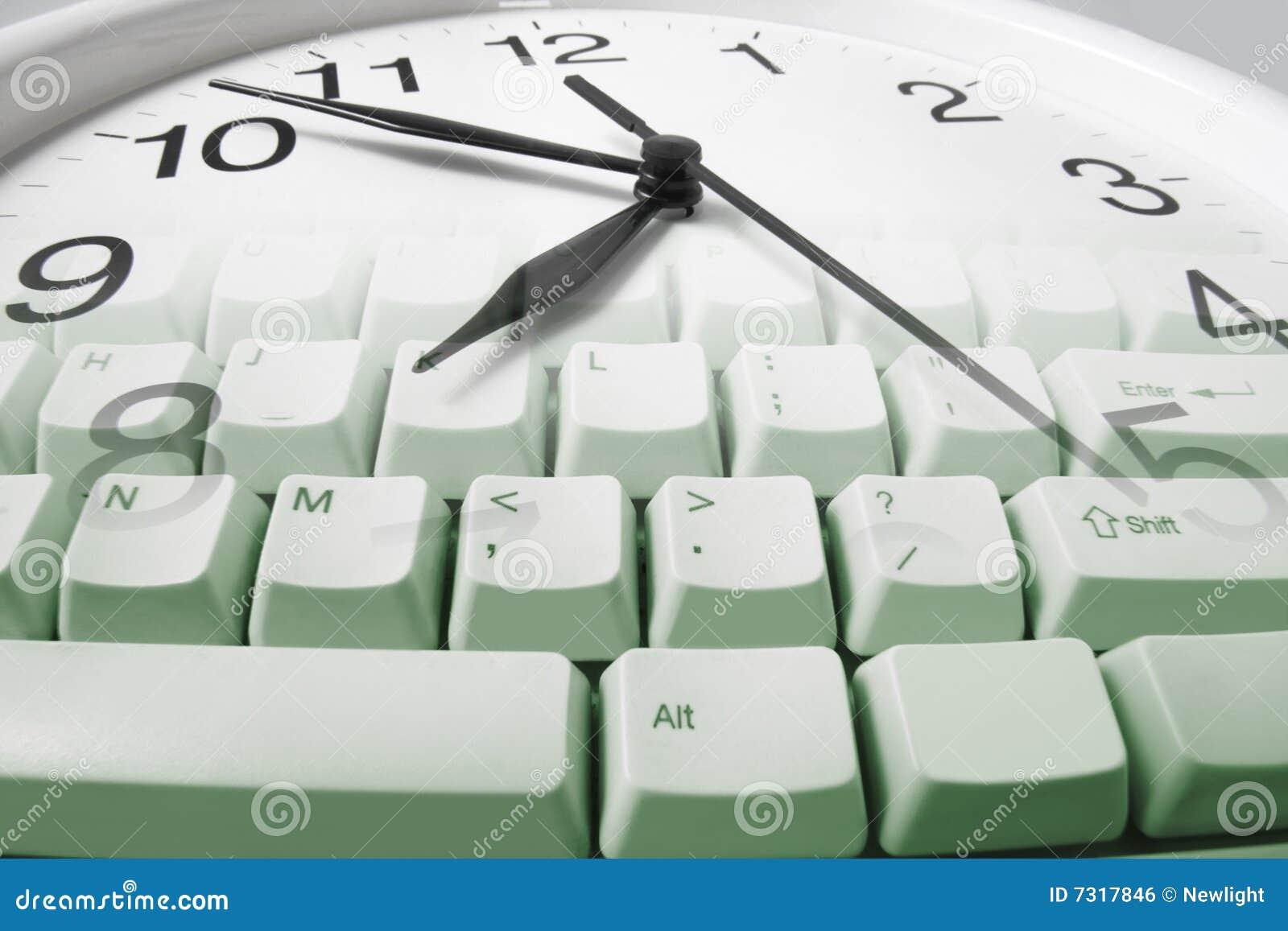 Tastiera di calcolatore e dell orologio