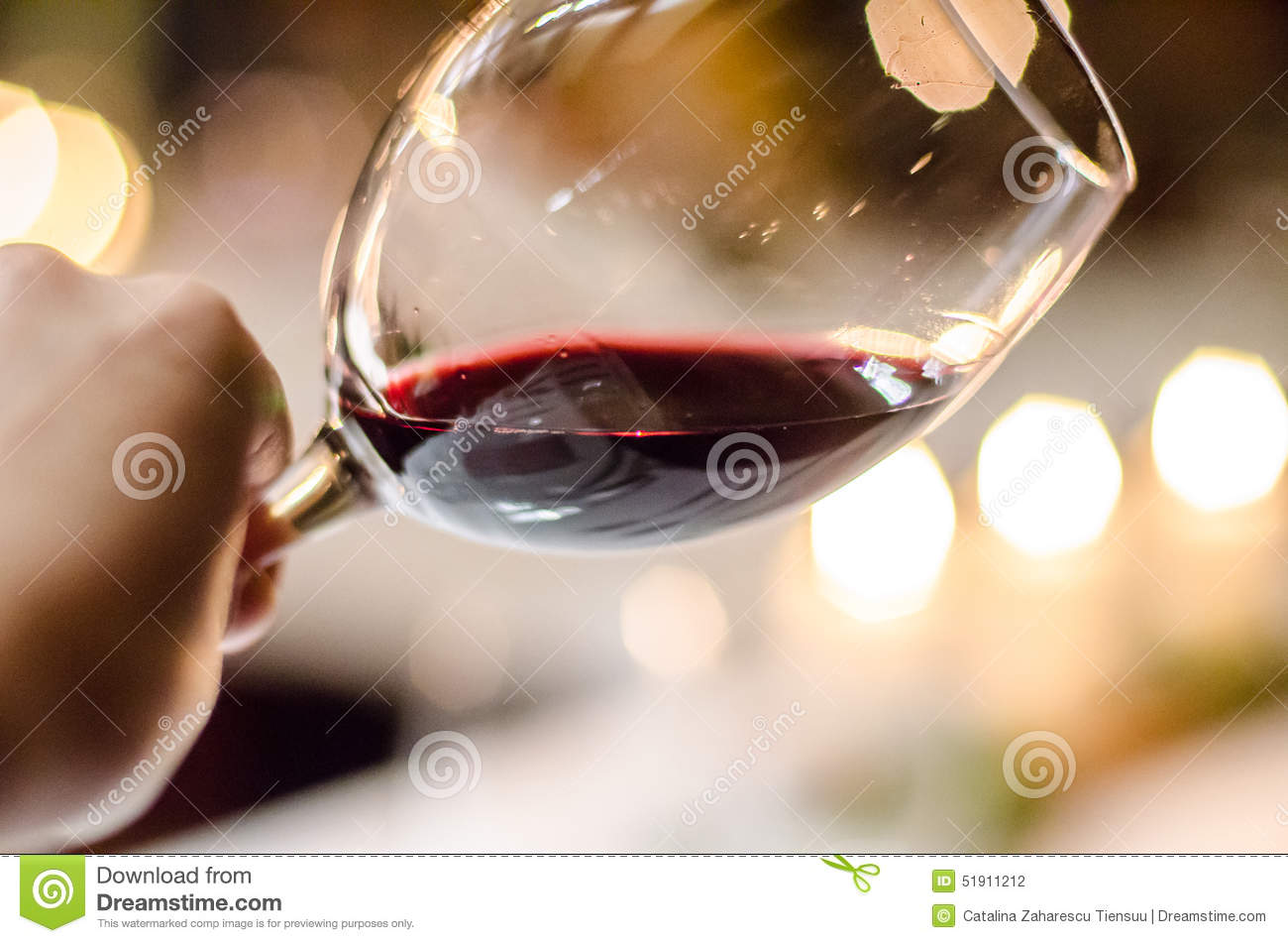 Tasting red wine stock photo image 51911212 for Large red wine glass