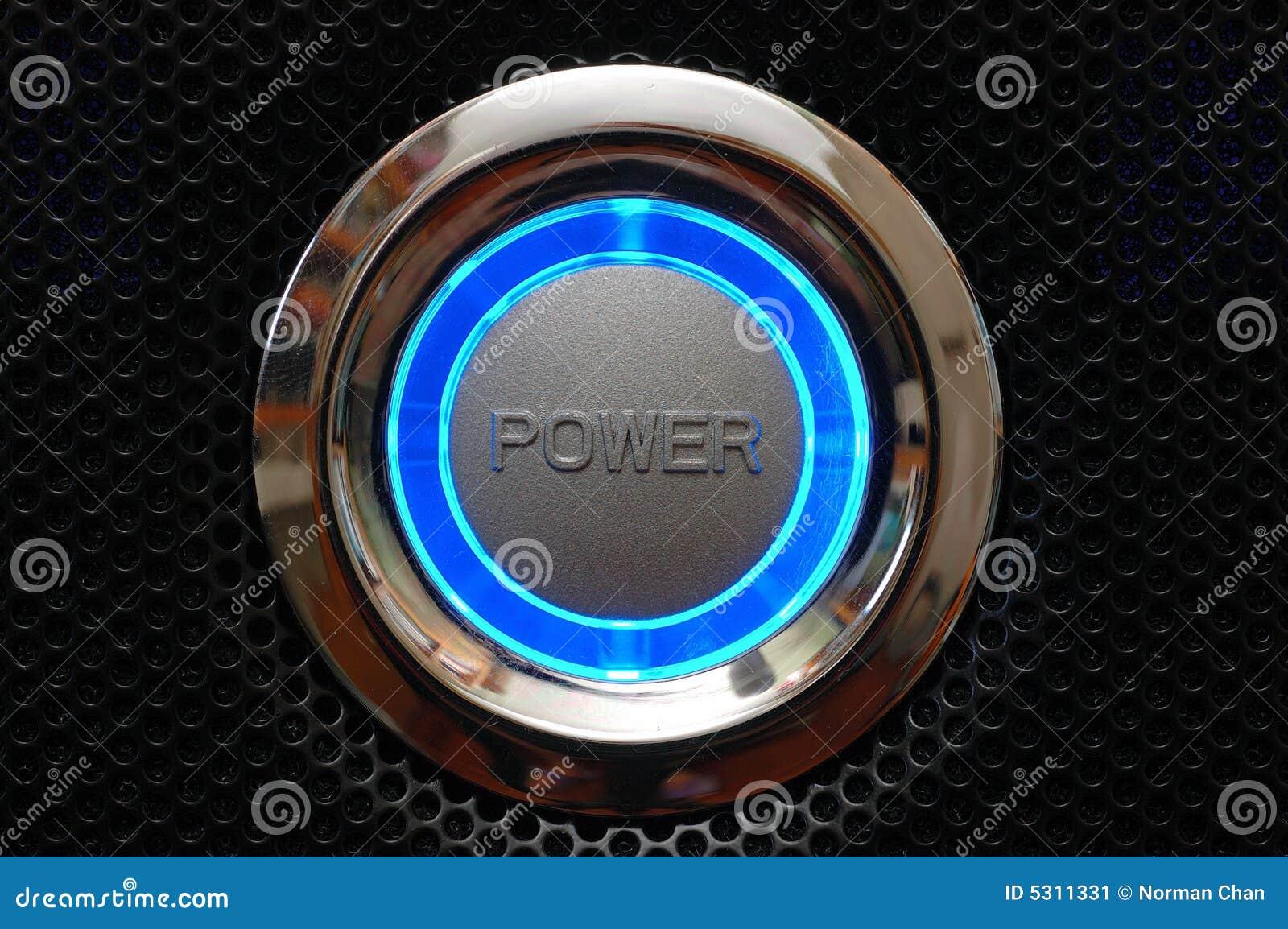 Download Tasto Di Potenza Del Calcolatore Immagine Stock - Immagine di closeup, inizio: 5311331