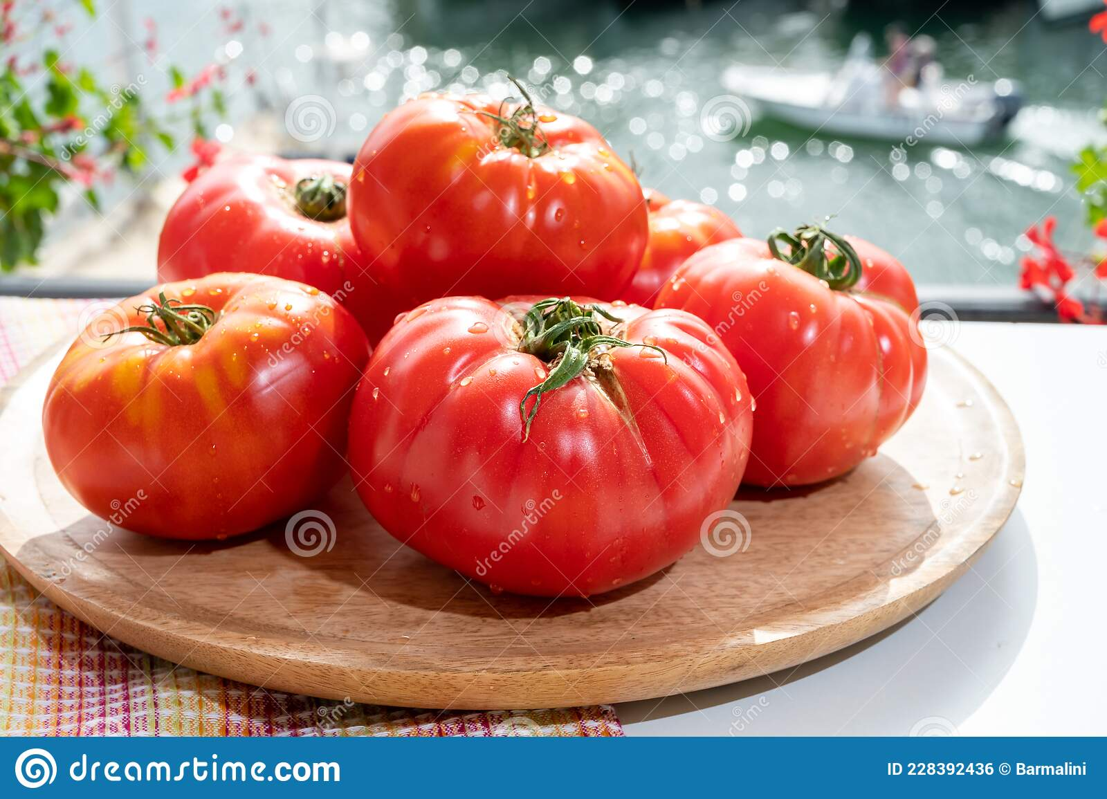 18+ Tasty Big Ripe French Tomatoes From Provence Ready To Eat In ... Image