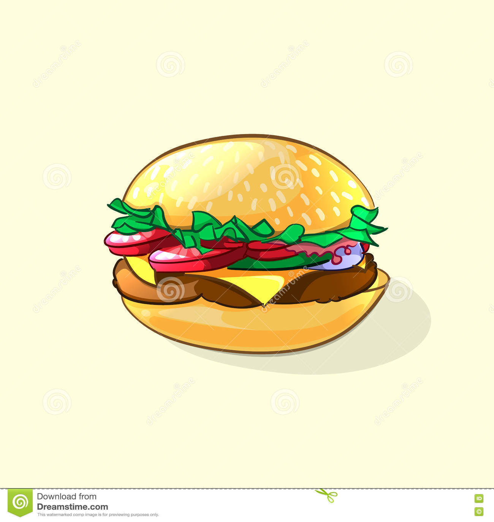 Junk Food Graphic Design
