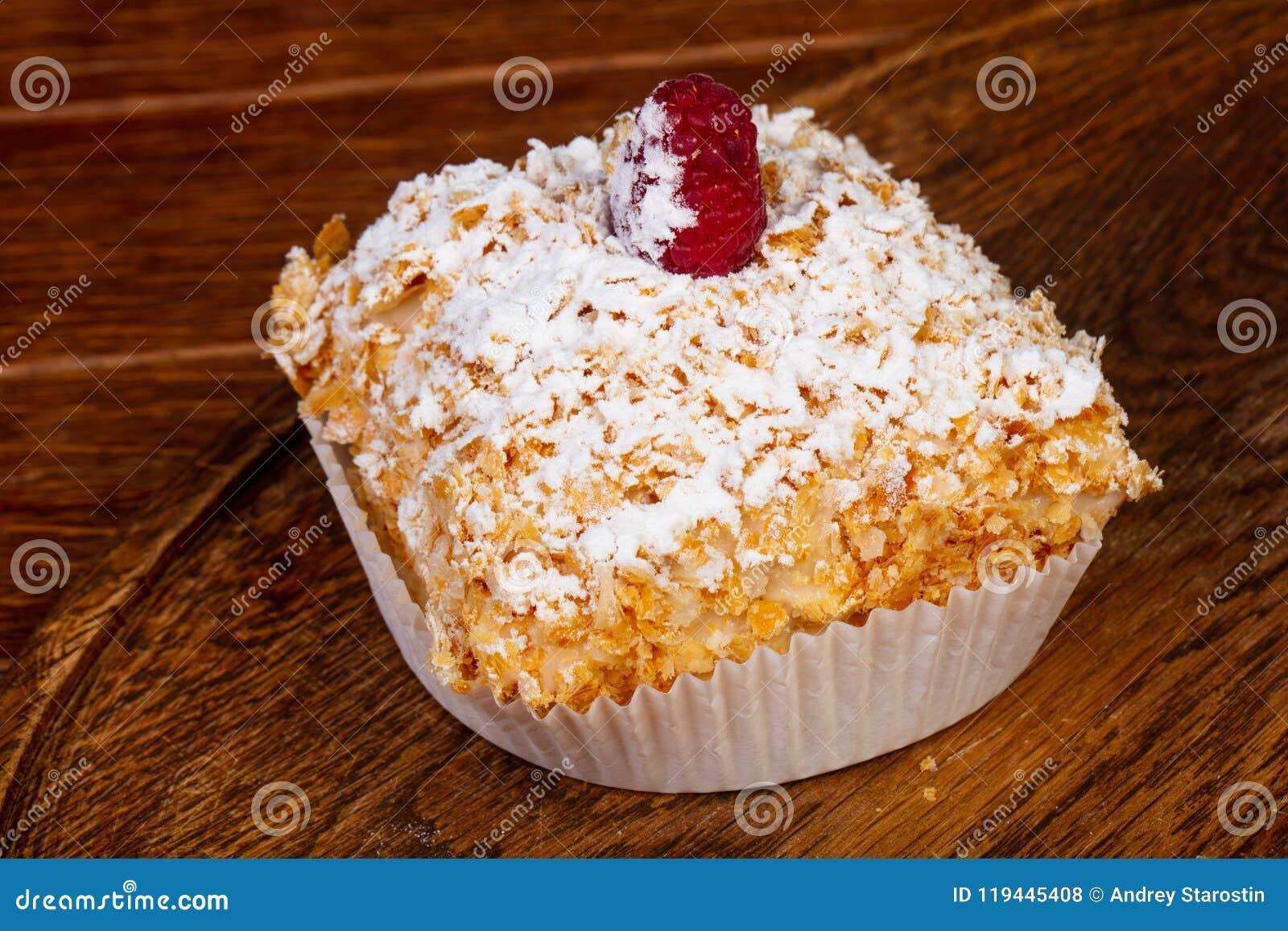 Tasty Cake Napoleon Stock Photo Image Of Birthday Isolated 119445408