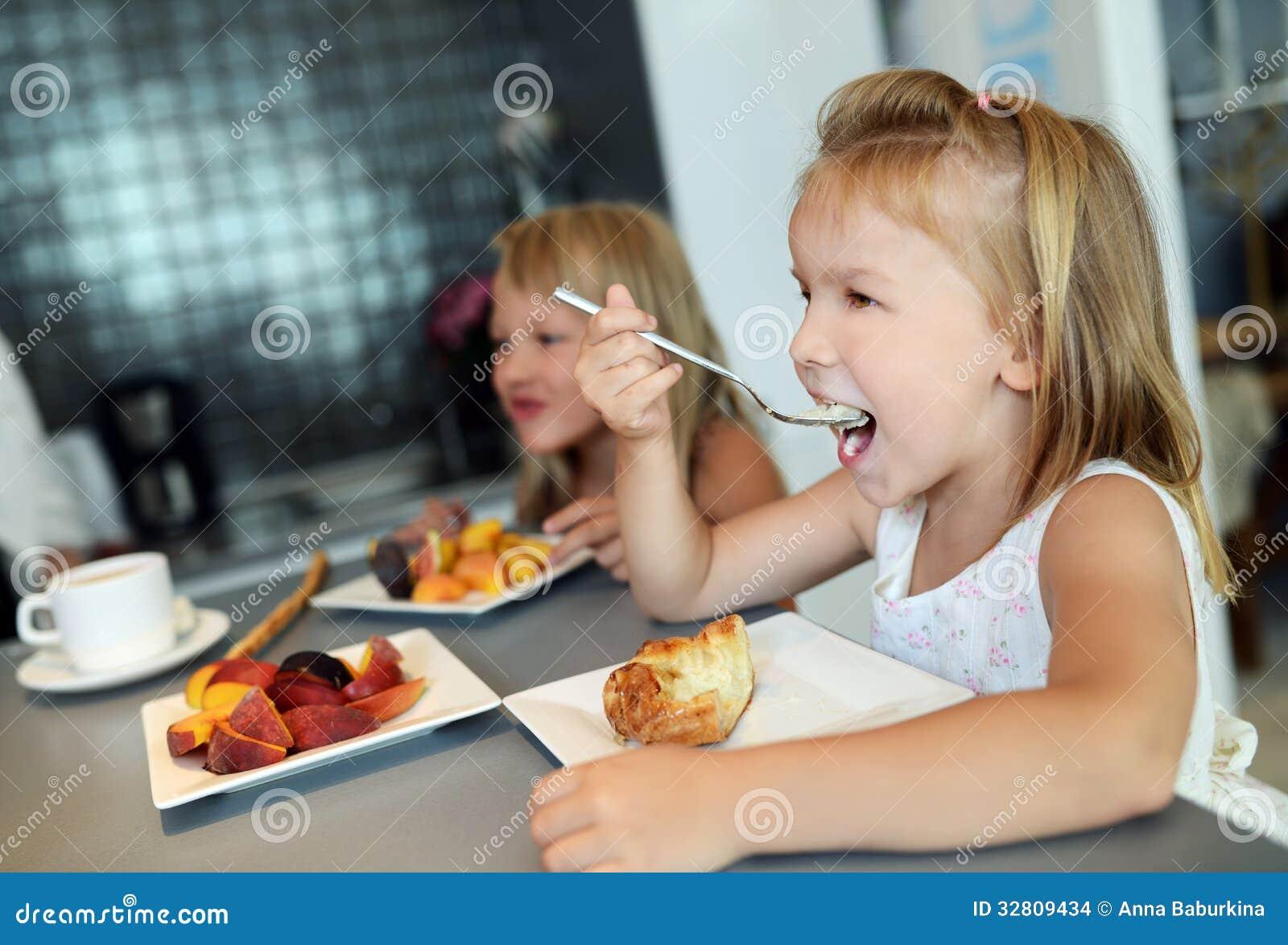 eating babe