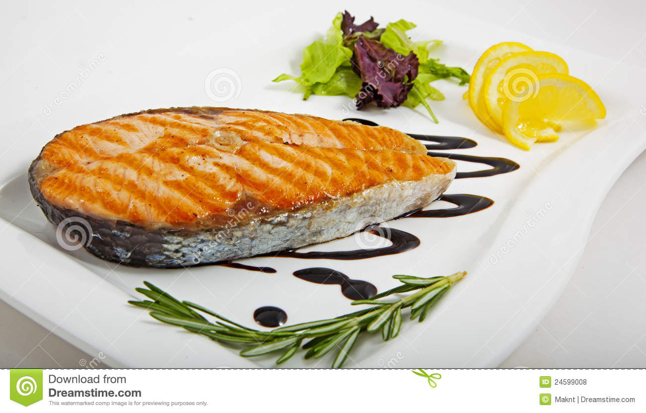 Tasty fish with vegetables royalty free stock photos for Fish with vegetables