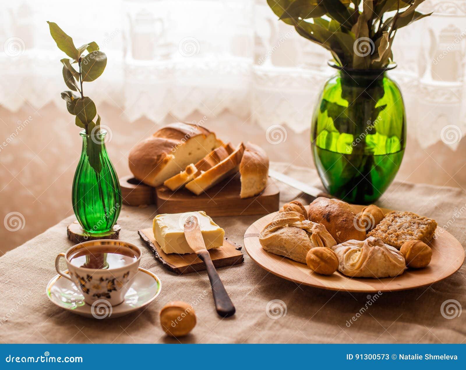 Tasty home breakfast