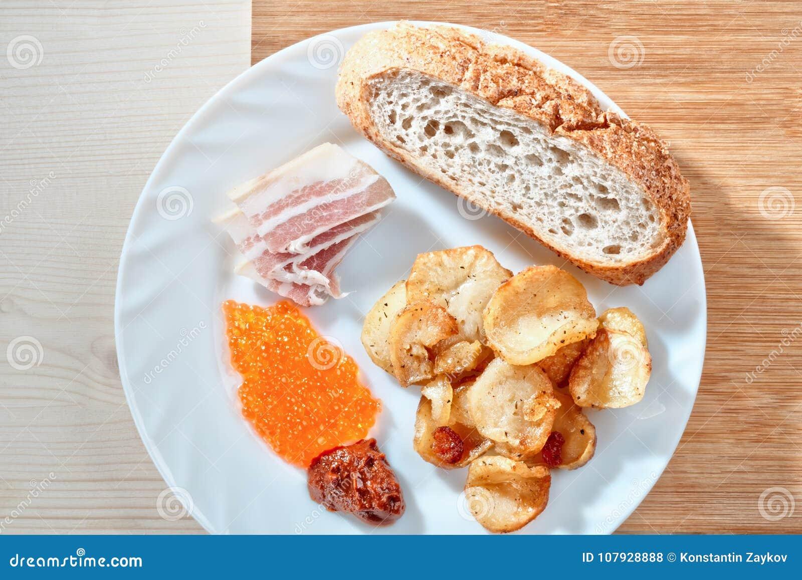 Tasty junk food. Greasy fried