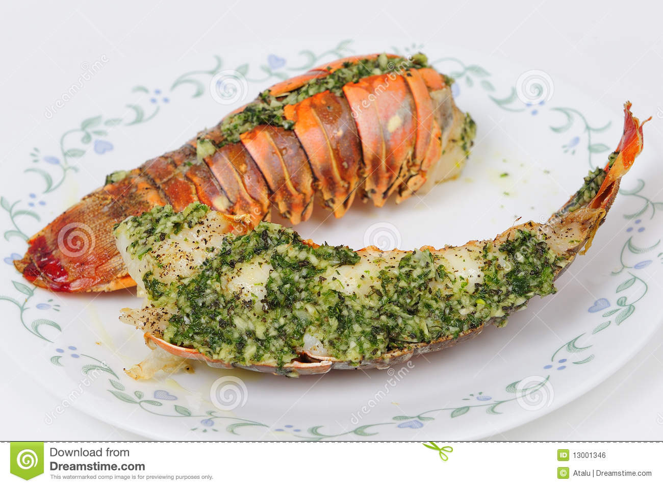 Tasty Lobster tail stock photo. Image ...