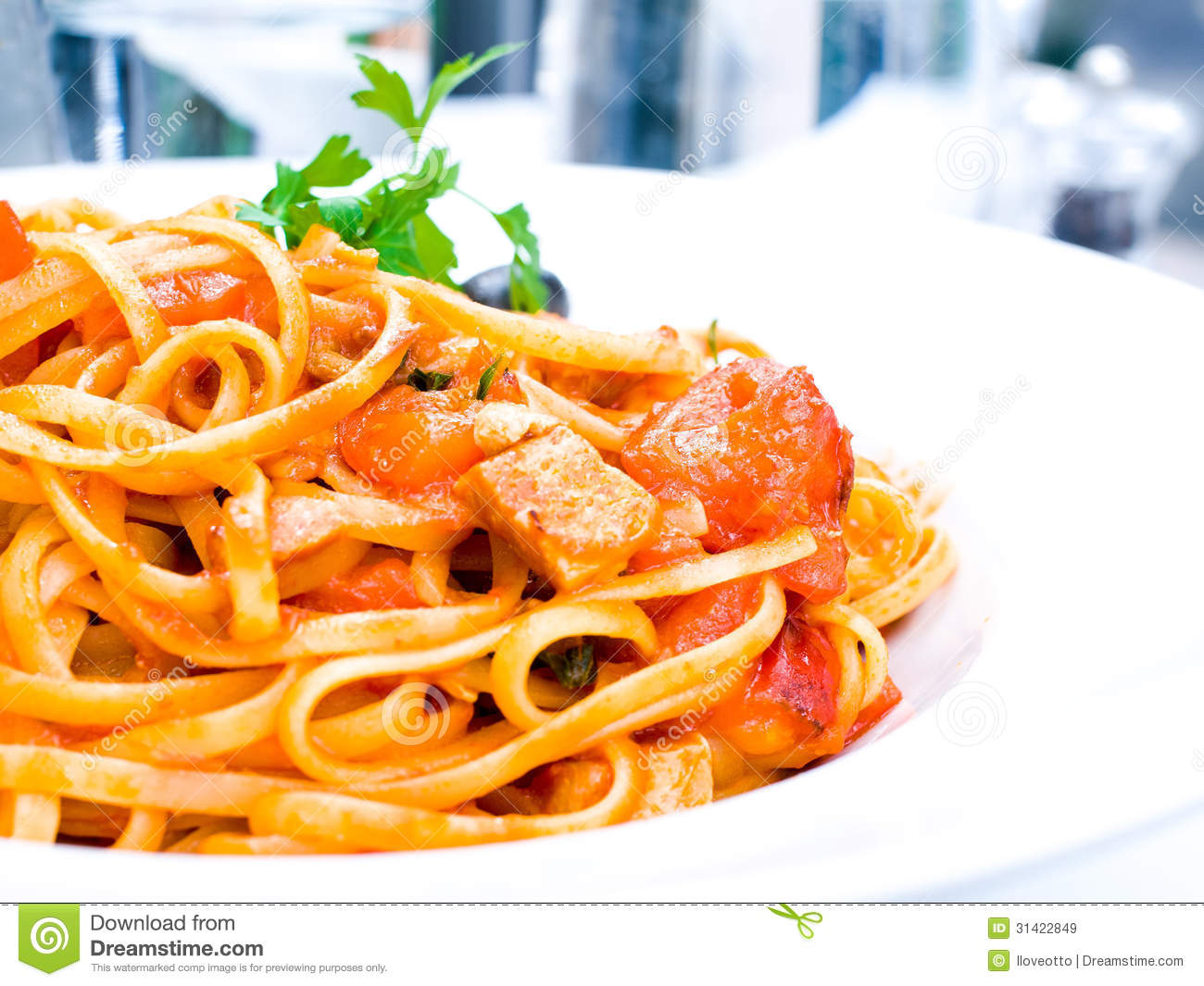Tasty Pasta-Italian Meat Sauce Pasta Royalty Free Stock Images - Image ...
